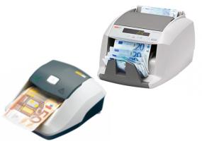 Geldprüfgeräte