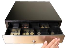 Kassenschubladen manuell