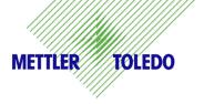 Thermoetiketten für Mettler Toledo bPlus