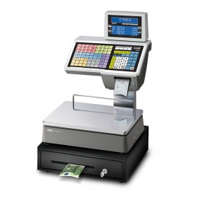 Geeichte Etikettendruckende CAS CL5500-D Systemwaage