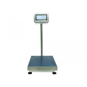 Geeichte Edelstahl Plattformwaage WKA PBS-4050, spritzwassergeschützt