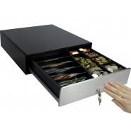 Kassenschublade KA-330 Touch, Geldlade, Kassenlade, Geldschublade schwarz/edelstahl